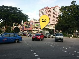 Cross junction