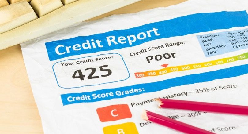 Poor credit score in Singapore