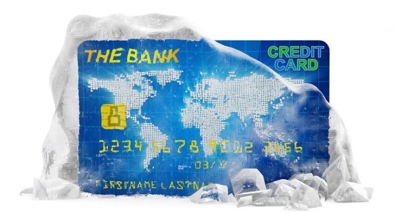 Singapore Credit Card Suspended