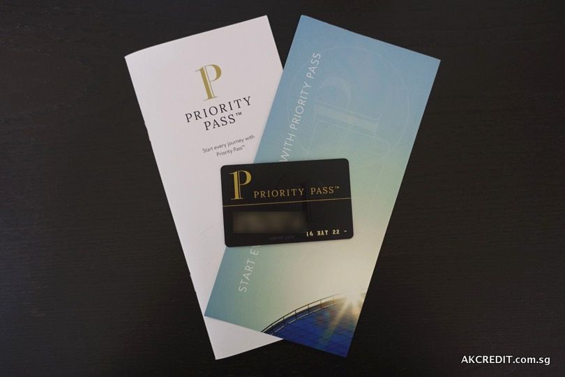 Priority Pass Membership Card