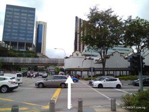 Cross Merchant Road Continue Straight